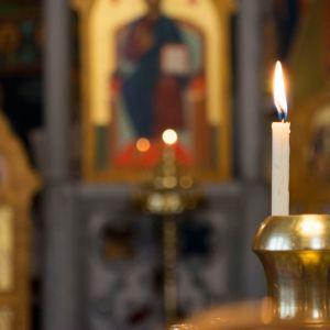 Kynttilä kirkossa