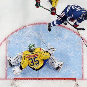 Suomi ja Ruotsi EHT-ottelussa