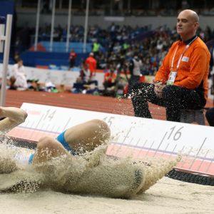 Simo Lipsanen Belgradin EM-sisähalleissa seitsemäs tuloksella 16,84