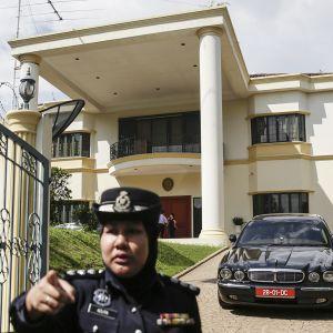 Pohjois-Korean suurlähetystö Kuala Lumpurissa.