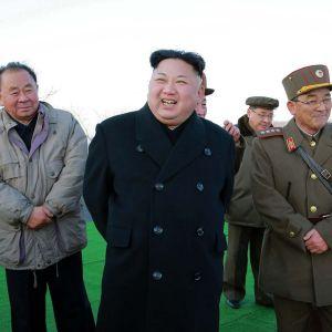 Pohjois-Korean johtaja Kim Jong-un valvomassa ohjuksein laukaisua maaliskuussa.