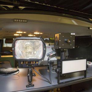 Kameravalvonta-auto.