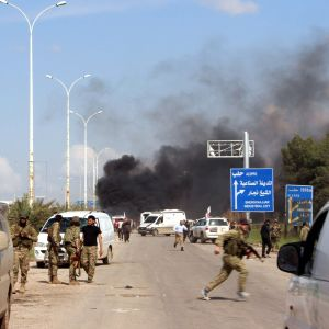 Tuhoisa pommi-isku tehtiin Rashdinin alueella, jossa evakuoitavia kuljettavat bussit odottivat pääsyä hallituksen alueelle Aleppoon.