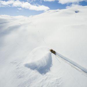 Lumitietä avataan Norjassa