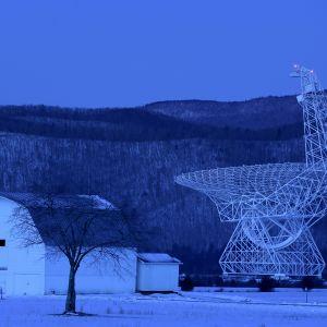 Green Bank -radioteleskooppi sijaitsee Länsi-Virginiassa Yhdysvalloissa.