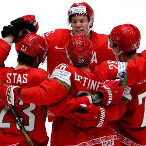 Valko-Venäjän jääkiekkopelaajia