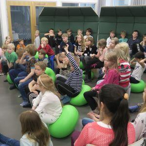 Tuomelan koulun kolmosluokka