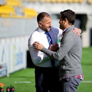 Sefki Kuqi ja Manuel Roca
