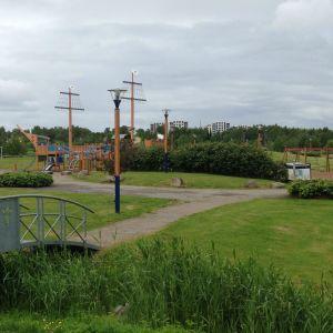 Vaasan Laivapuisto.