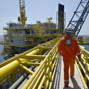 Maerskin öljynporauslautta Pohjanmerellä kesäkuussa 2012.