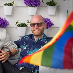 Aviopari Raul Medina ja Hannu Virtanen