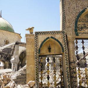 Kurder stormade moske