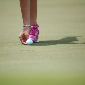 Yleiskuva golfista