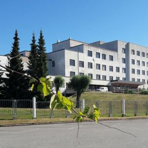 Rauman aluesairaala sairaala rakennus