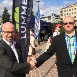 Markus Tykkyläinen ja Erkki Karppanen