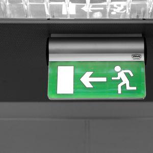 Exit-kyltti toimistossa.