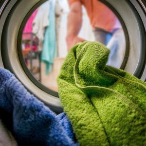 Pyykinpesua.