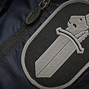 poliisin hihamerkistä lähikuva