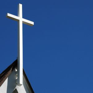 risti kirkossa