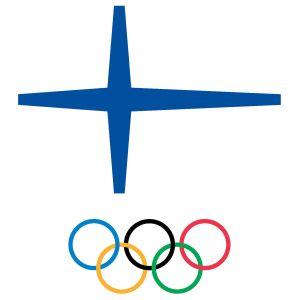 Olympiakomitean logo