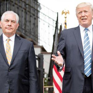 Rex Tillerson ja Donald Trump