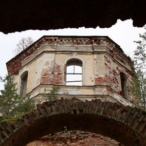 Salmin rauniokirkon kupoli