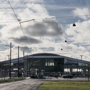 Länsiterminaali kaksi Helsingin Jätkänsaaressa.