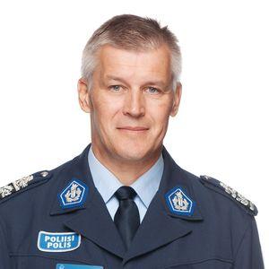 Pohjanmaan poliisilaitoksen poliisipäällikkö Risto Lammi.
