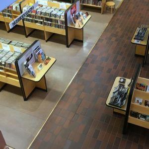 Kirjaston musiikkiosasto