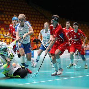 Veera Kauppi, Suomi vs Tshekki MM 2017