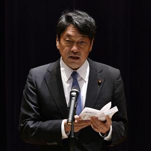 Japanin puolustusministeri Itsunori Onodera.