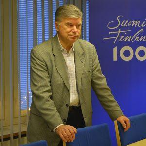 Muutosjohtaja Seppo Huldén Päijät-Hämeen liitosta.