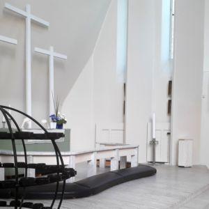 Kolmen ristin kirkon alttaritaulu