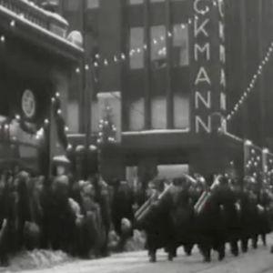 Joulukadun avajaiset Helsingissä 1956