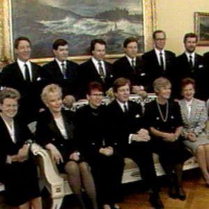 Esko Ahon hallitus 1990-luvulla