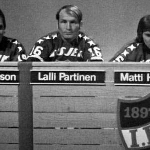HIFK:n tietovisajoukkue Lämäri-ohjelmassa.