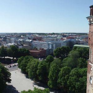 Vy över Åbo stad.