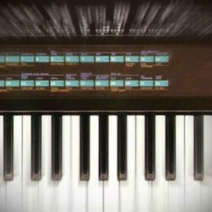 Yamaha DX7 digitaalisyntesoija, käsitelty kuva