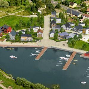 Pargas stads nya bostadsområde Solbågen.