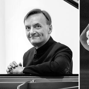 pianisti Stephen Hough ja kapellimestari Hannu Lintu