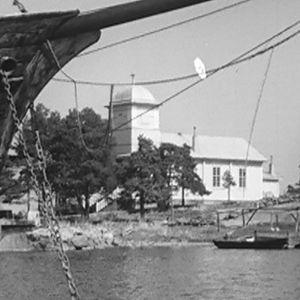 Haapasaaren kirkko vuonna 1964