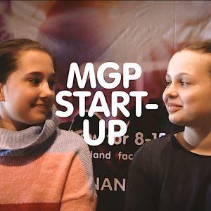 deltagare på Start-up lägret är nöjda.