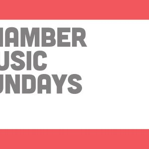 chamber music sundays