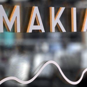 Vaatealan yritys Makian myymälä Lasipalatsissa Helsingissä 10. lokakuuta 2019.