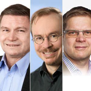 Mikko Majander, Marko Hamilo, Antti Vesala, Jukka Pietiläinen ja Jussi Westinen.