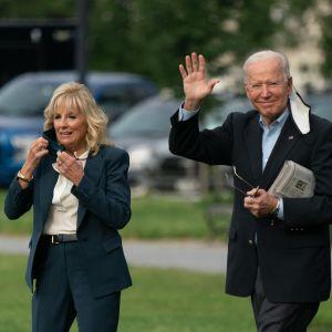 Presidentti Biden ja hänen Jill-puolisonsa lähtivät perjantaina Valkoisesta talosta kohti Eurooppaa.