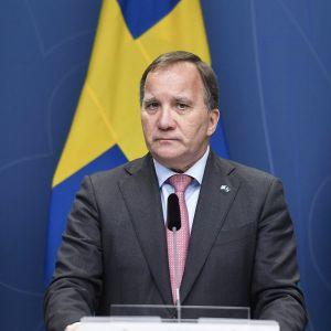 Ruotsin pääministeri Stefan Löfven