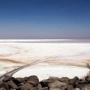 Urmia järvi kuivunut.