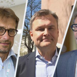 Jari Petäjä, Matti Bergendahl ja Markku Mäkijärvi
