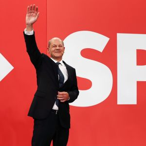 SPD:n johtaja Olaf Scholz